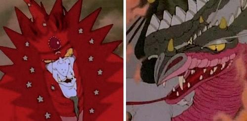 El vuelo de los dragones - Ommadon y Bryaugh