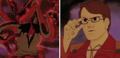 El vuelo de los dragones - Ommadon contra Peter