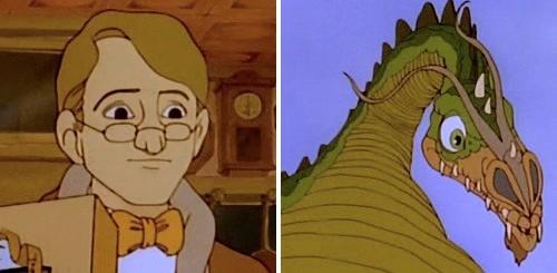 El vuelo de los dragones - Peter y Golpezás