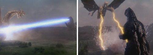 Godzilla vs. King Ghidorah - El primer combate