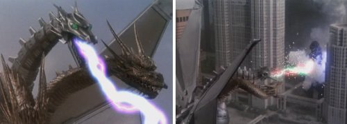 Godzilla vs. King Ghidorah - El segundo round
