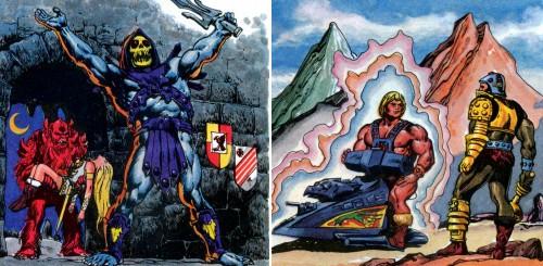 Masters del Universo - Minicómic nº 1 - Páginas 10 y 14