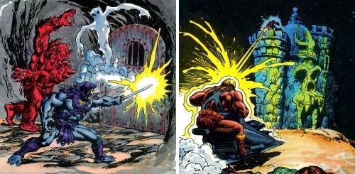 Masters del Universo - Minicómic nº 1 - Páginas 15 y 17