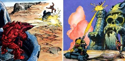 Masters del Universo - Minicómic nº 1 - Páginas 18 y 20