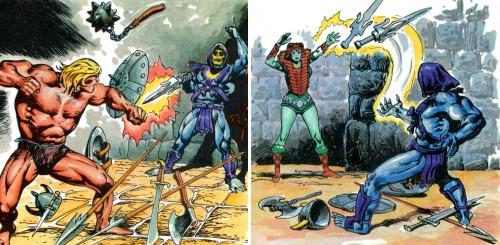Masters del Universo - Minicómic nº 1 - Páginas 21 y 22