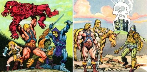 Masters del Universo - Minicómic nº 1 - Páginas 23 y 27