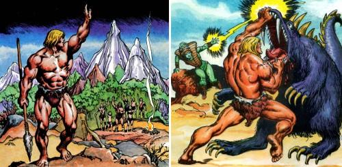 Masters del Universo - Minicómic nº 1 - Páginas 2 y 4