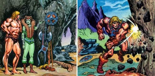 Masters del Universo - Minicómic nº 1 - Páginas 5 y 6