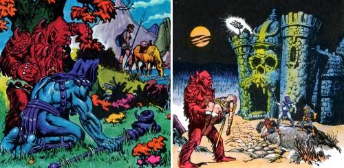 Masters del Universo - Minicómic nº 1 - Páginas 7 y 9