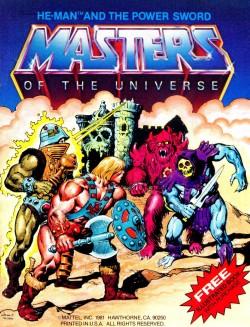Masters del Universo - Minicómic nº 1 - Portada