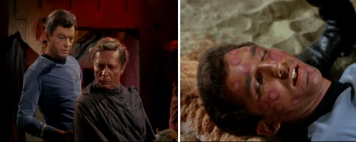 Star Trek: La trampa humana - El profesor Crater y la primera víctima