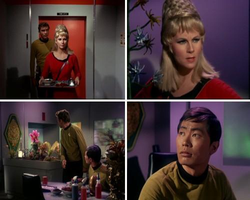 Star Trek: La trampa humana - La criatura, Janice, Gertrudis y Sulu