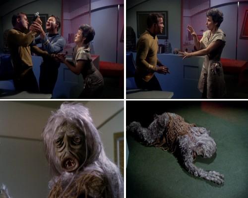 Star Trek: La trampa humana - La criatura revela su verdadero rostro