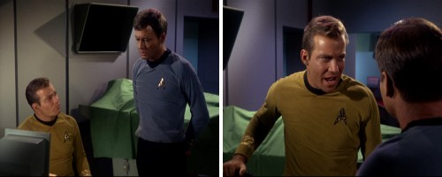Star Trek: La trampa humana - Kirk y McCoy discuten