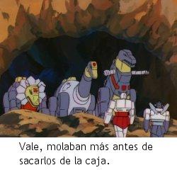 Transformers: S.O.S. Dinobots - Los Dinobots