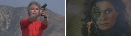 V, la miniserie - Julie disparando y Diana al descubierto