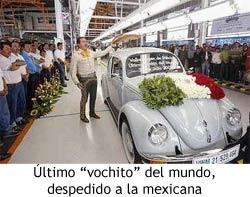 VW - Último Escarabajo
