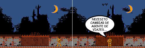 Castlevania de NES - Castillo de Drácula