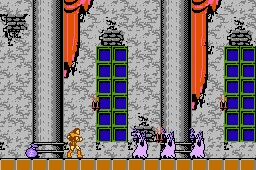 Castlevania de NES - Fase 1