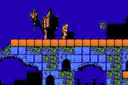 Castlevania de NES - Fase 3