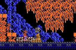 Castlevania de NES - Fase 4