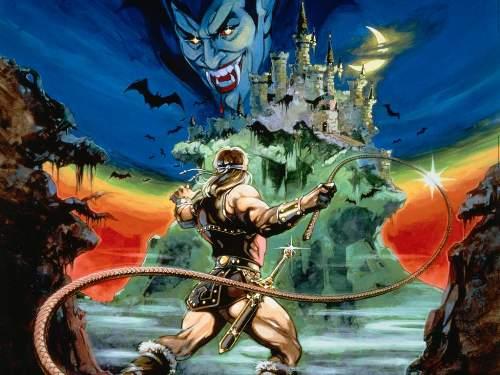 Castlevania de NES - Portada