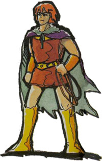 Castlevania de NES - Simon Belmont