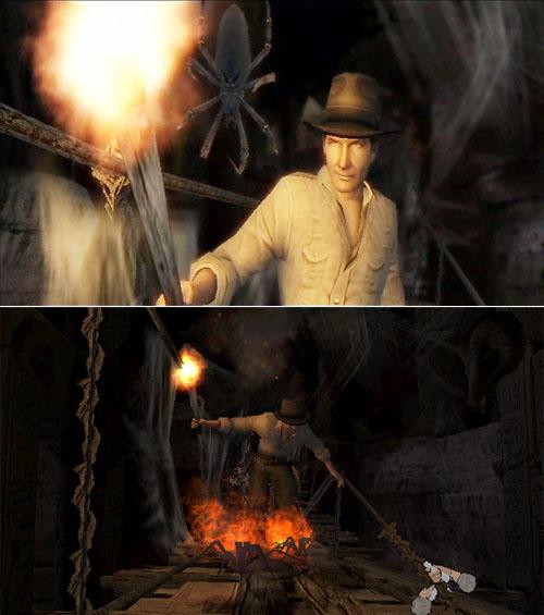 Indiana Jones y el Cetro de los Reyes - ¡Arañas!