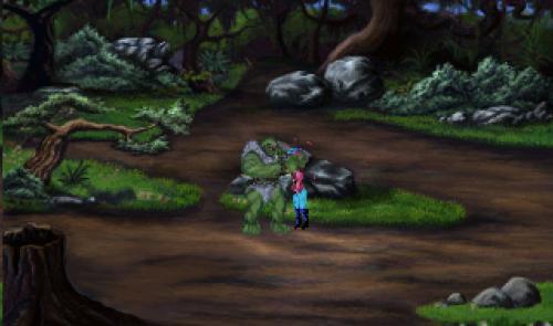 King's Quest I - Muerte por ogro