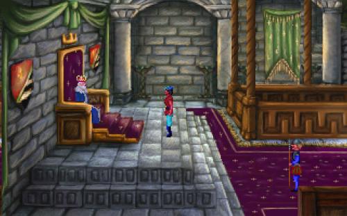 King's Quest I - Audiencia con el Rey