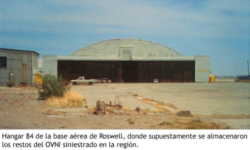 Incidente Roswell - Hangar 84