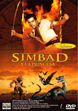Simbad y la princesa - Portada
