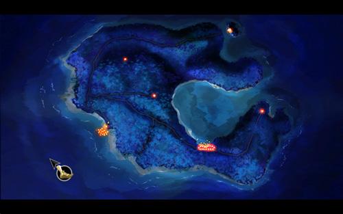 Monkey Island SE - Mapa de Mêlée