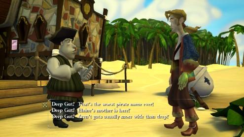 Tales of Monkey Island - Conversación con pirata-periodista
