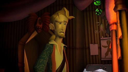 Tales of Monkey Island - En el interior de la vieja cabaña