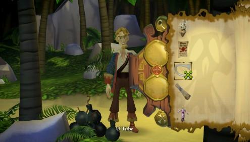 Tales of Monkey Island - El inventario