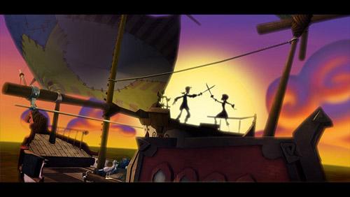 Tales of Monkey Island (II) - Duelo con LeFlay
