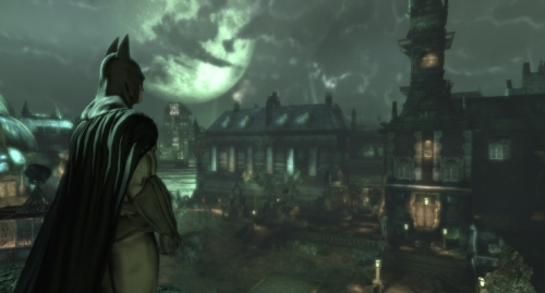 Batman: Arkham Asylum - Arkham, exterior