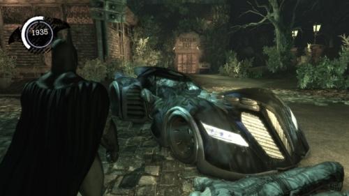Batman: Arkham Asylum - Batmóvil
