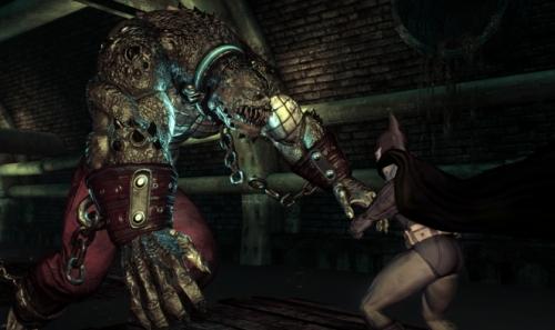 Batman: Arkham Asylum - Cocodrilo Asesino