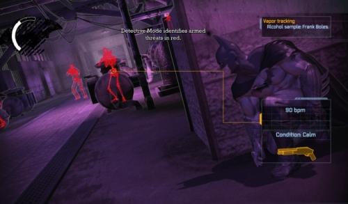 Batman: Arkham Asylum - Modo detective