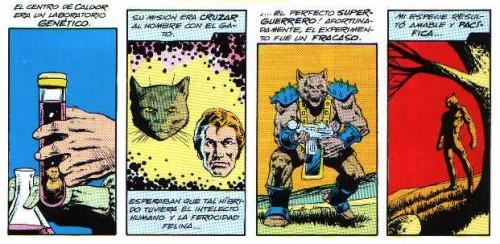 Dreadstar núm. 1 - Hombres gato