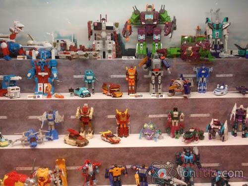 Exposición de Transformers - Una foto
