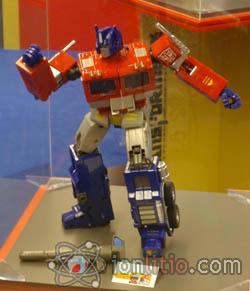 Exposición de Transformers - Optimus Prime