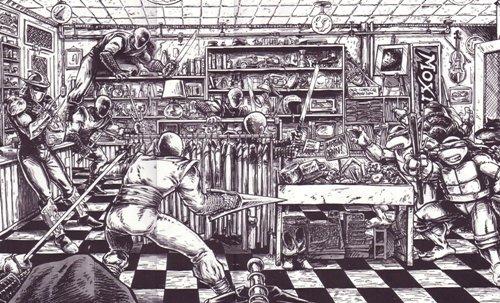 Las Tortugas Ninja de Eastman y Laird: Compañero silencioso - Shredder