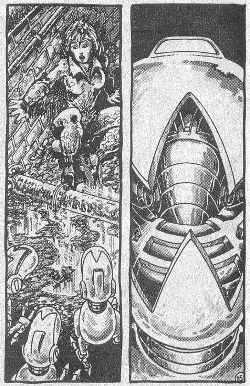 Las Tortugas Ninja de Eastman y Laird: El Fugitoide - April acorralada