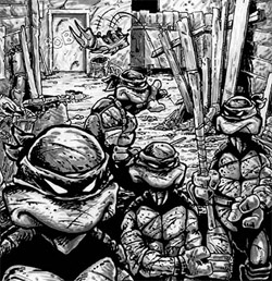 Las Tortugas Ninja de Eastman y Laird: Origen - Fin