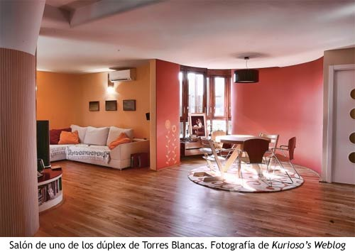 Torres Blancas - Salon