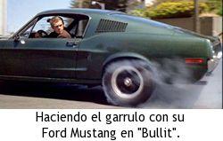 Héroes de acción de los 60 y 70 - Ford Mustang