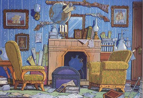Sherlock Holmes, la serie - Despacho